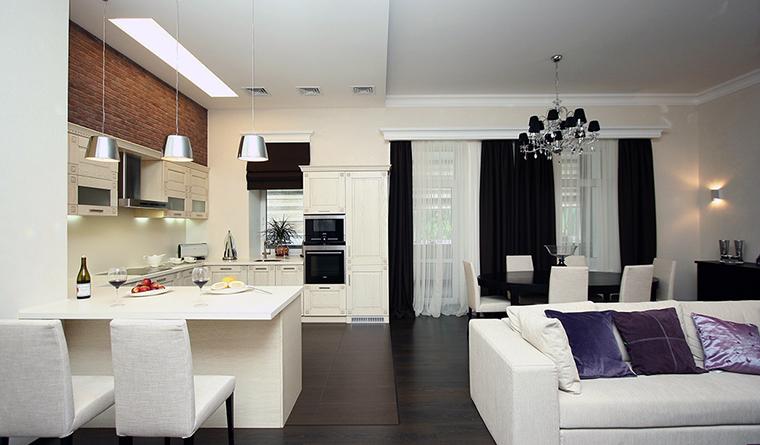 Квартира. кухня из проекта , фото №31559