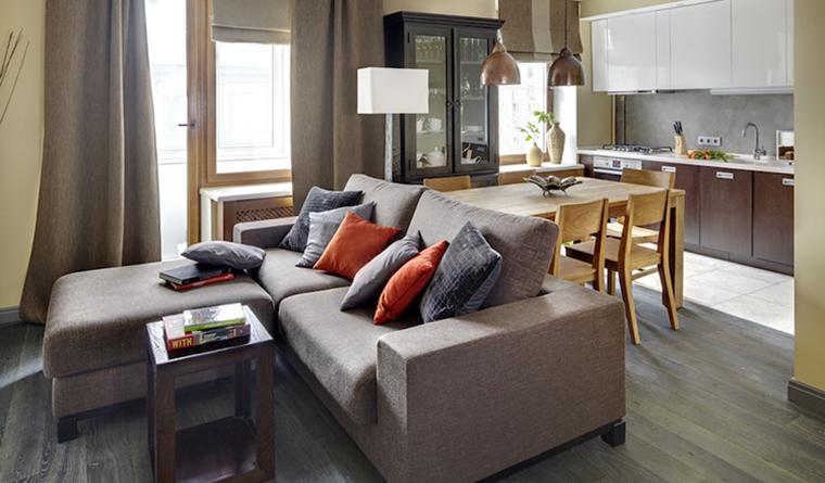 интерьер гостиной - фото № 31669