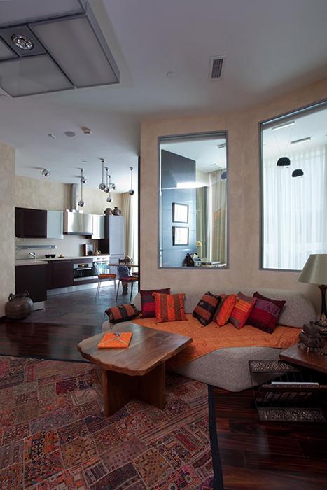 Фото № 31723 гостиная  Квартира