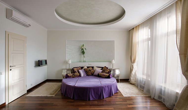 Квартира. спальня из проекта , фото №31753