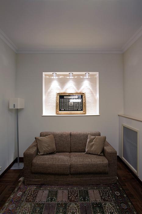 Квартира. гардеробная из проекта , фото №31759