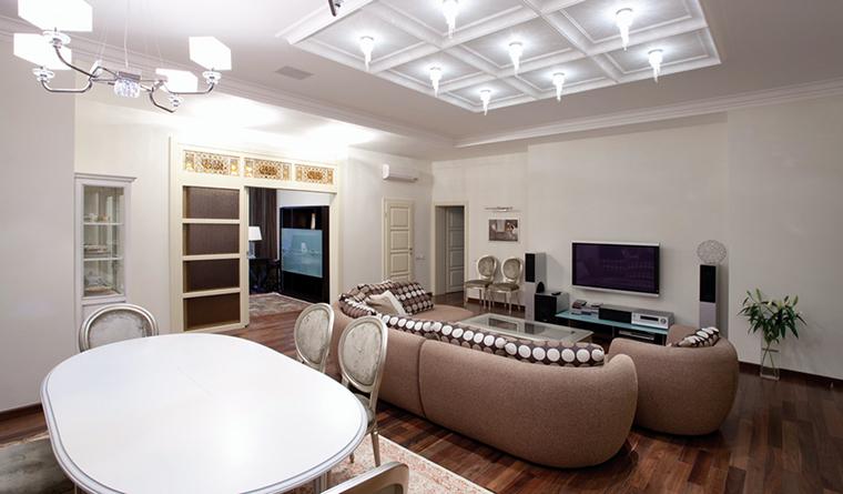 Квартира. гостиная из проекта , фото №31757