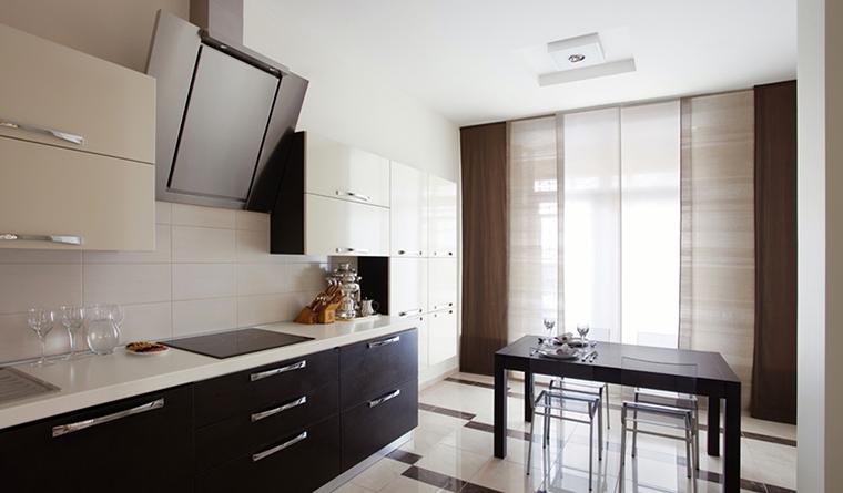 Квартира. кухня из проекта , фото №31750