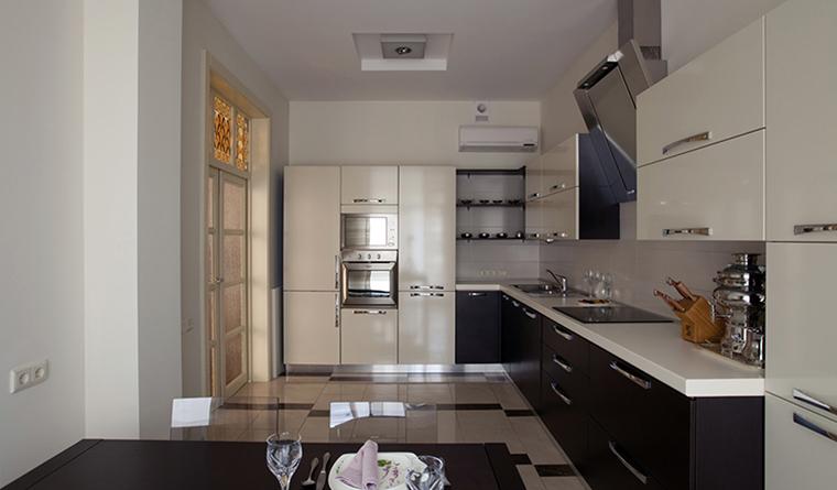 Квартира. кухня из проекта , фото №31751