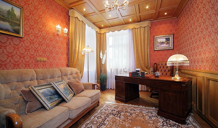 Квартира. кабинет из проекта , фото №31837