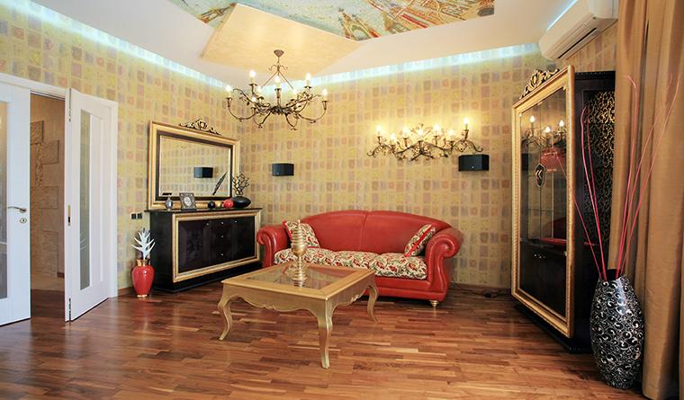 Квартира. гостиная из проекта , фото №31869