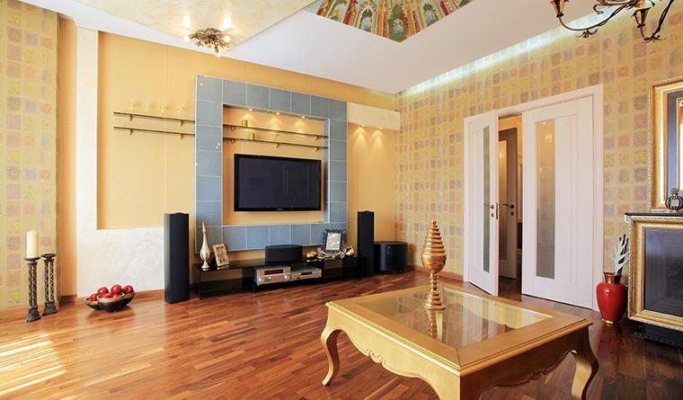 Квартира. гостиная из проекта , фото №31852