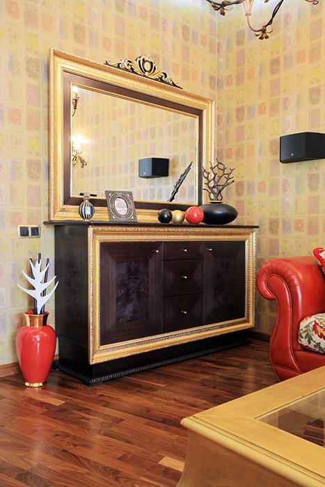 Квартира. гостиная из проекта , фото №31853