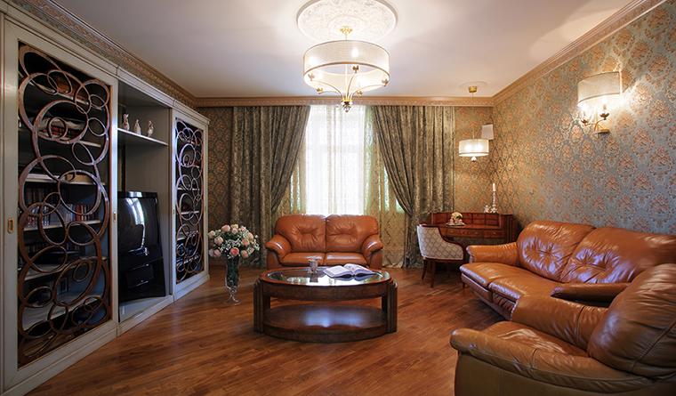 Квартира. гостиная из проекта , фото №31845