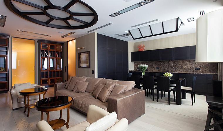 Фото № 31888 гостиная  Квартира