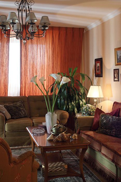 интерьер гостиной - фото № 31915