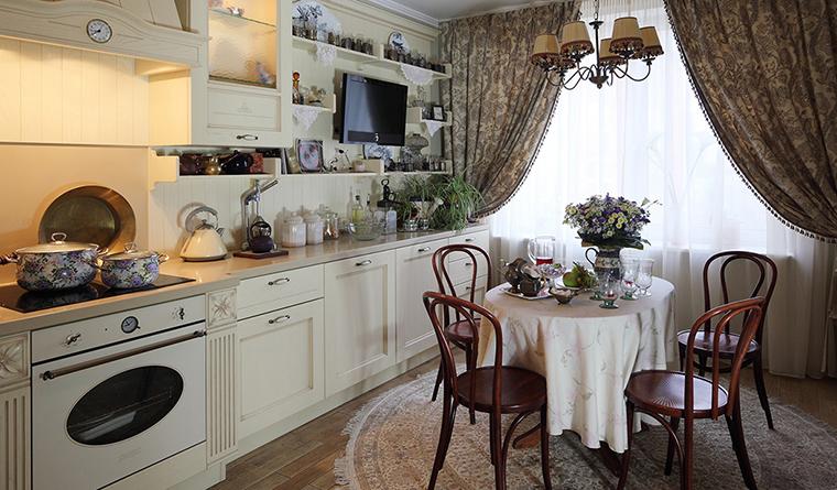 Фото № 31920 кухня  Квартира