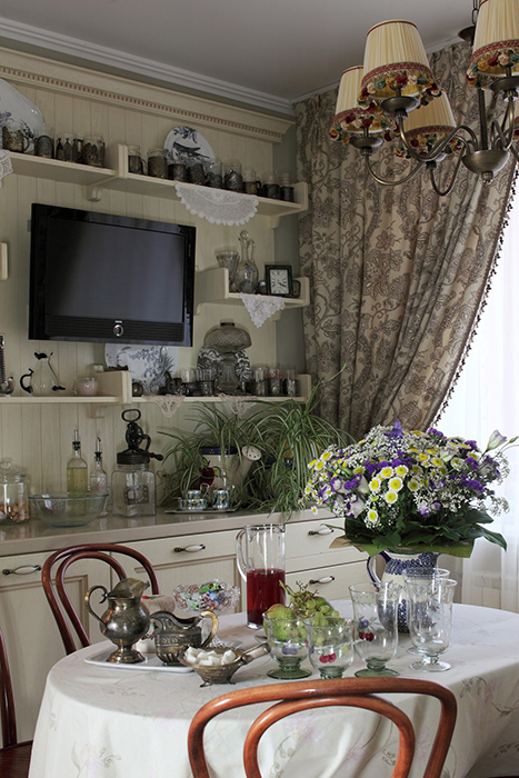 Фото № 31921 кухня  Квартира