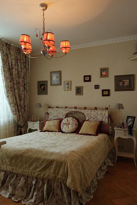 интерьер спальни - фото № 31926