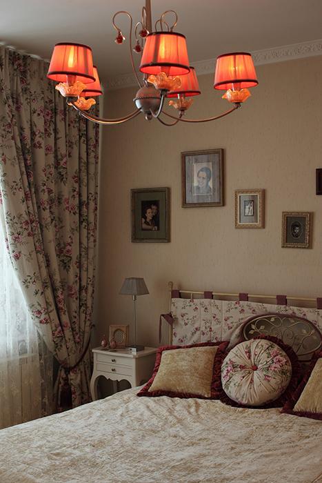 интерьер спальни - фото № 31927