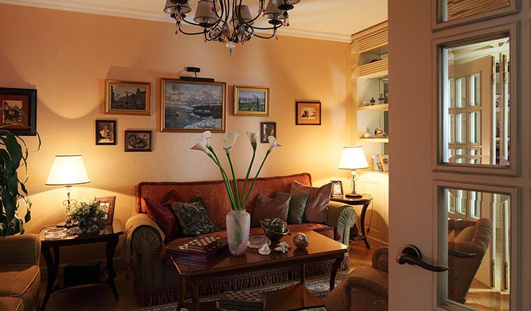 интерьер гостиной - фото № 31918