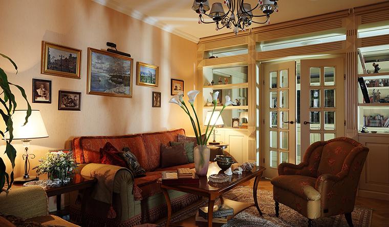 интерьер гостиной - фото № 31919