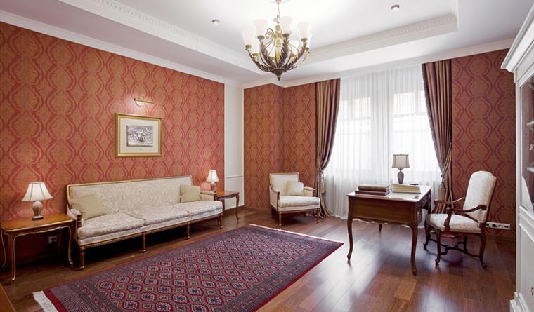 Квартира. кабинет из проекта , фото №31911