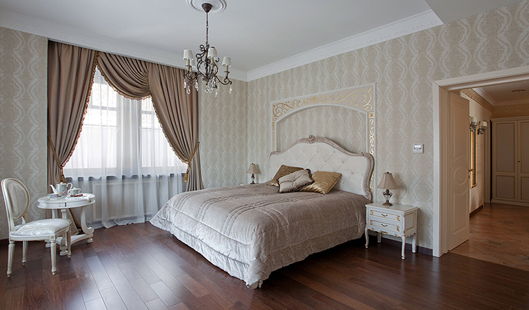 Квартира. спальня из проекта , фото №31907