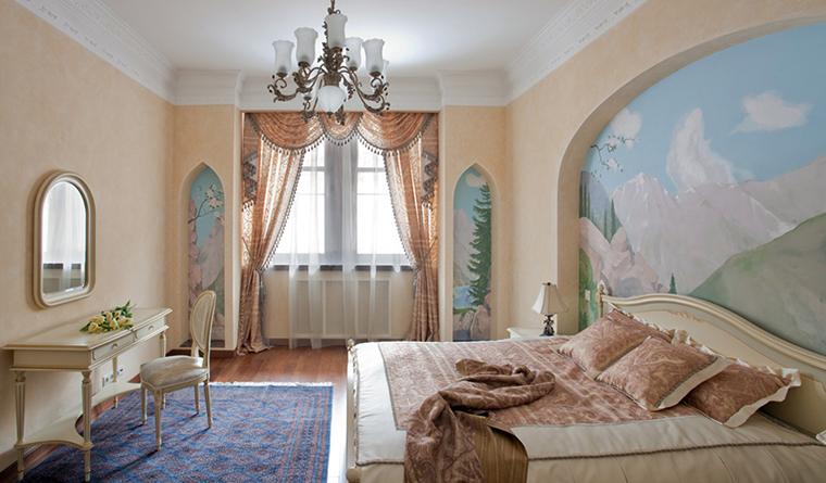 интерьер спальни - фото № 31908