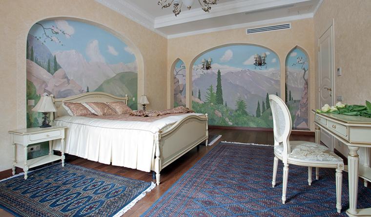 интерьер спальни - фото № 31909
