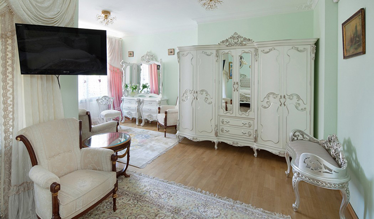 интерьер спальни - фото № 31950