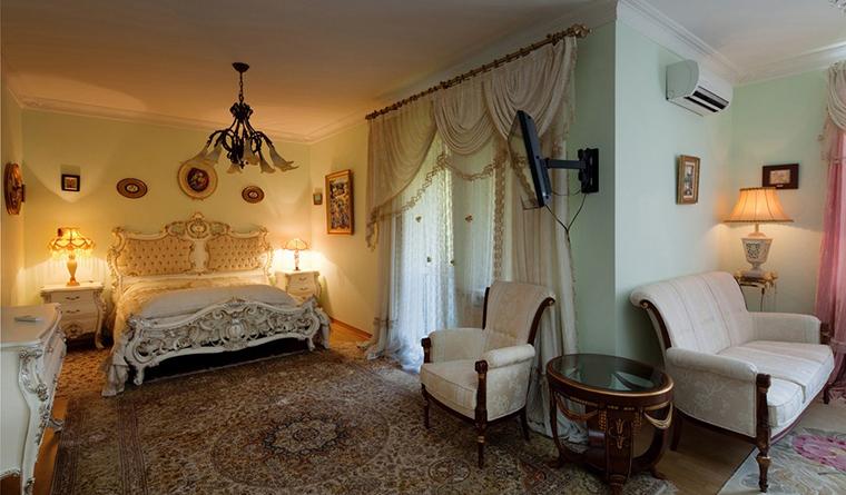 интерьер спальни - фото № 31951