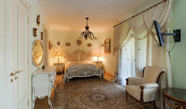 интерьер спальни - фото № 31948