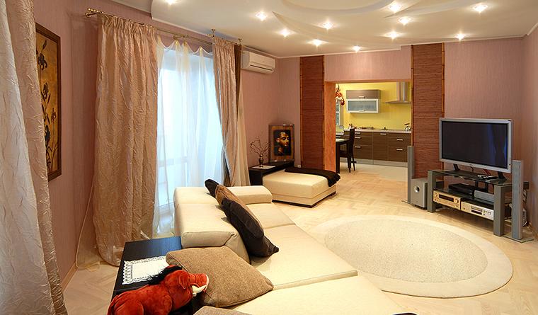 Фото № 31970 гостиная  Квартира