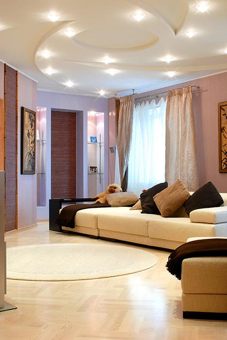 Фото № 31972 гостиная  Квартира
