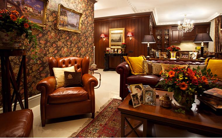Квартира. гостиная из проекта , фото №32081