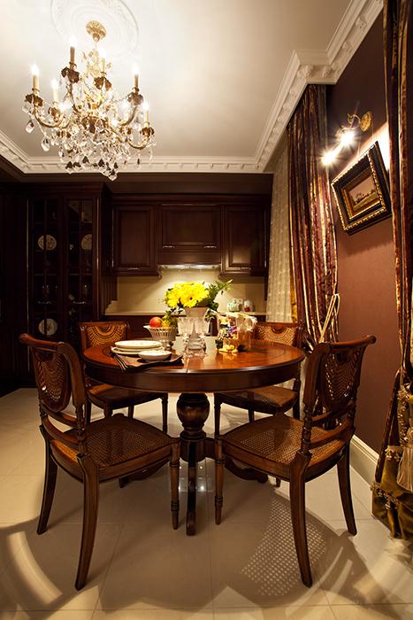 Квартира. столовая из проекта , фото №32082