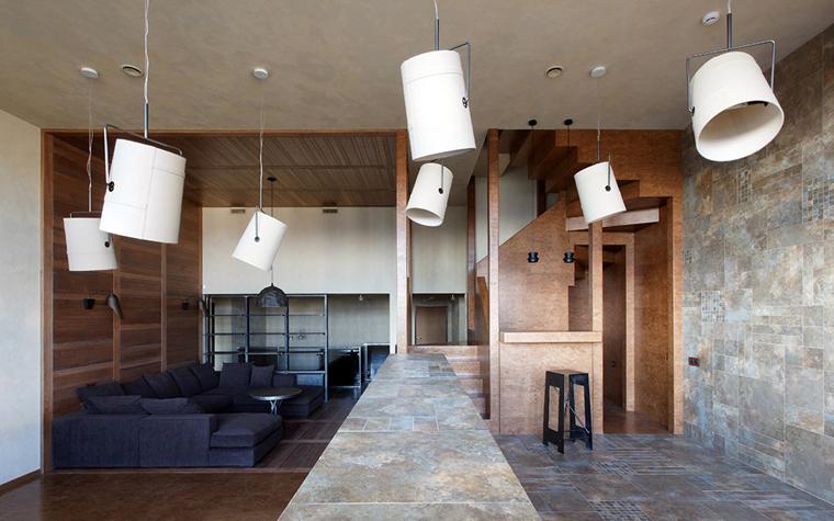 Квартира. гостиная из проекта , фото №32205