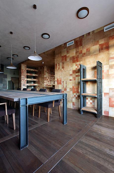 Квартира. столовая из проекта , фото №32199