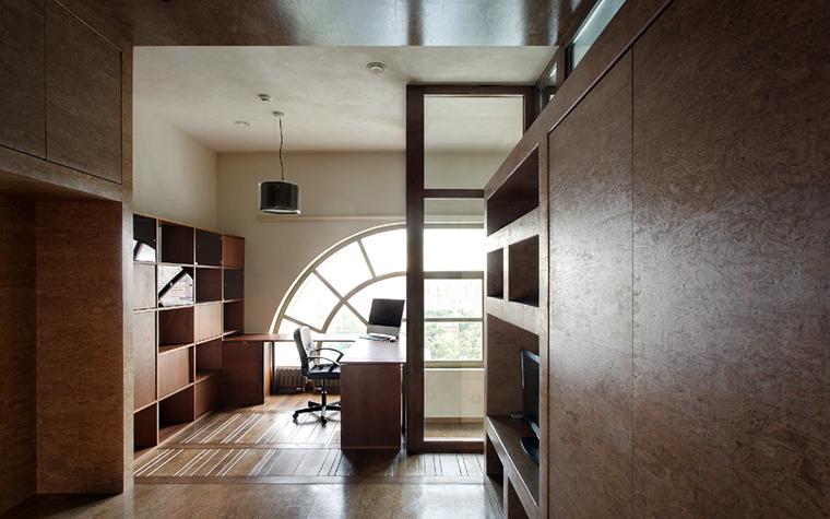 Квартира. кабинет из проекта , фото №32203