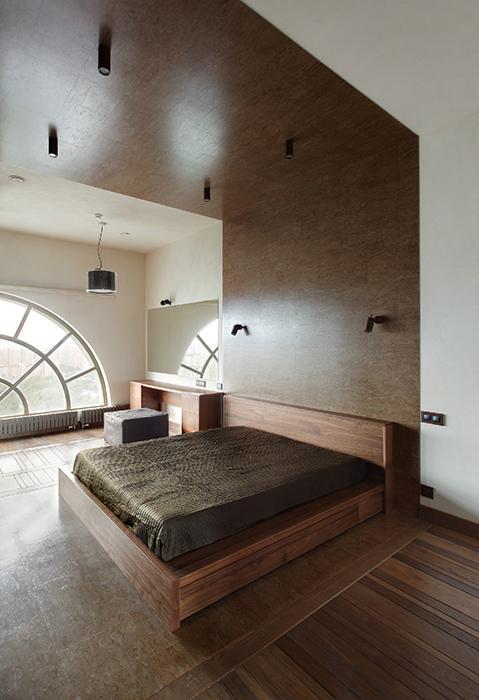 Квартира. спальня из проекта , фото №32202