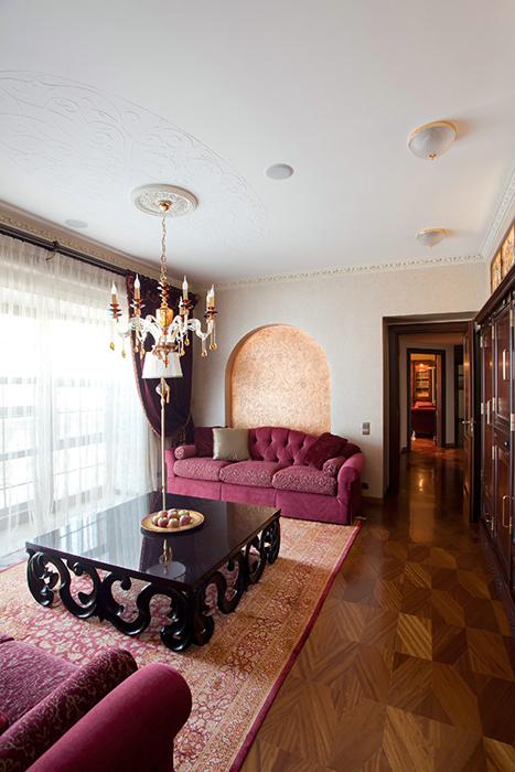 интерьер гостиной - фото № 32240
