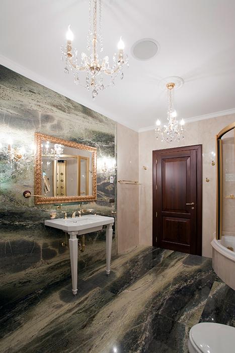 Квартира. ванная из проекта , фото №32222