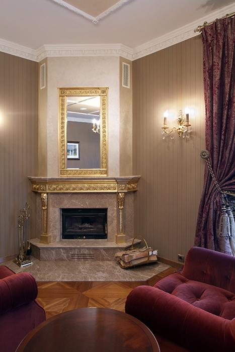 интерьер гостиной - фото № 32241