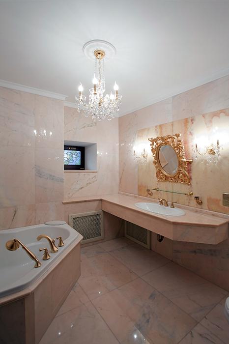 Квартира. ванная из проекта , фото №32223