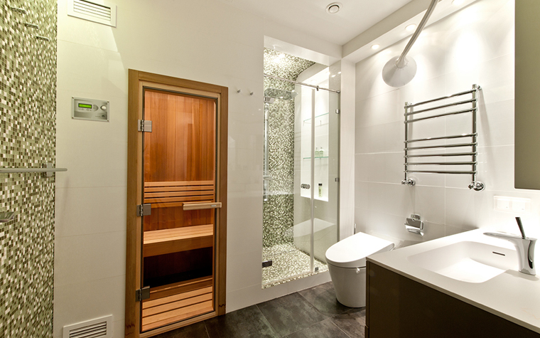 Квартира. ванная из проекта , фото №32357