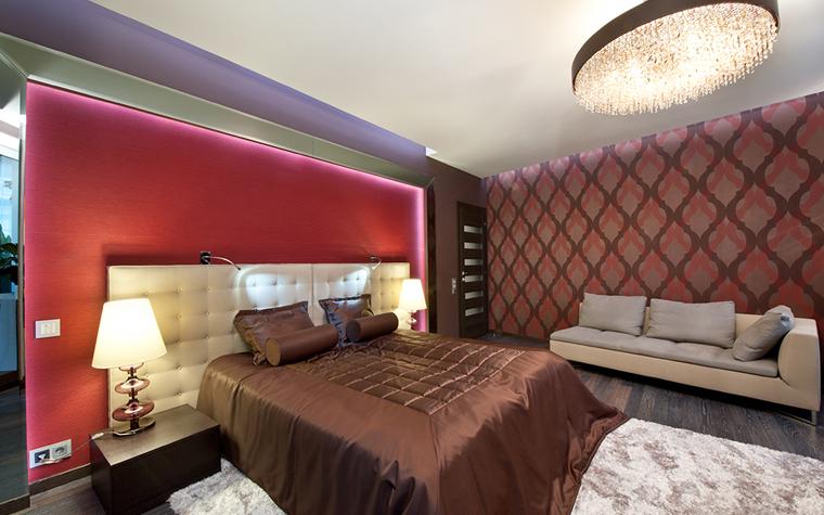 Квартира. спальня из проекта , фото №32340