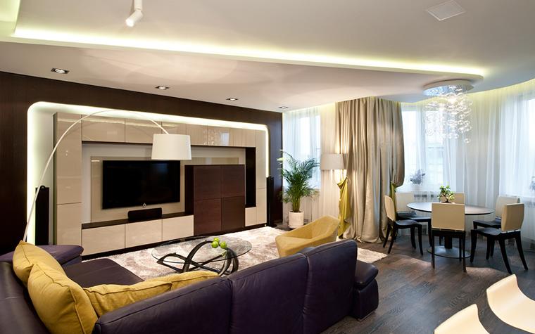 Фото № 32347 гостиная  Квартира