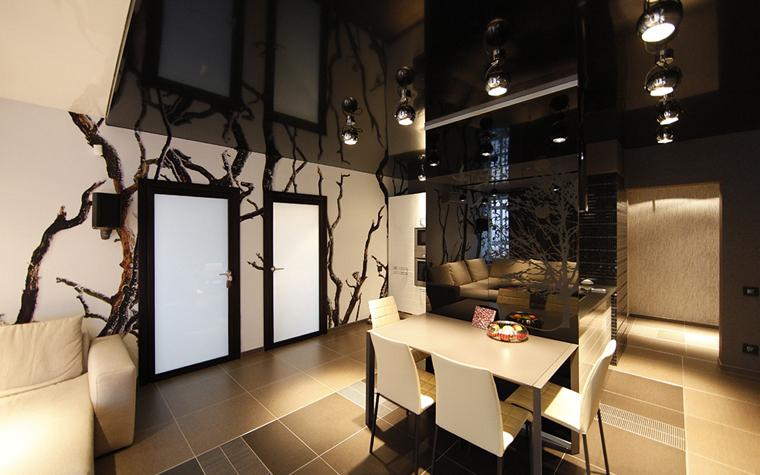 Квартира. столовая из проекта , фото №32421