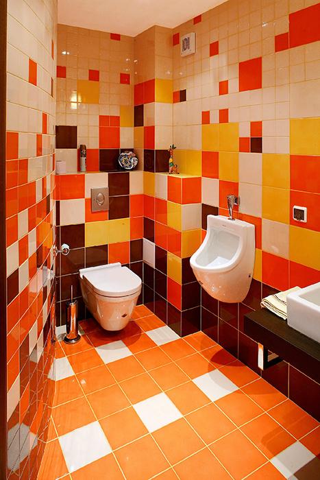 Квартира. ванная из проекта , фото №32478