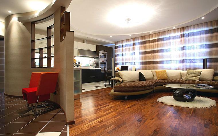 Квартира. гостиная из проекта , фото №32479