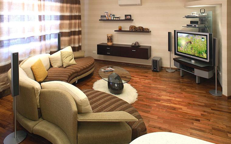 Квартира. гостиная из проекта , фото №32480