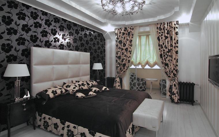 Квартира. спальня из проекта , фото №32574