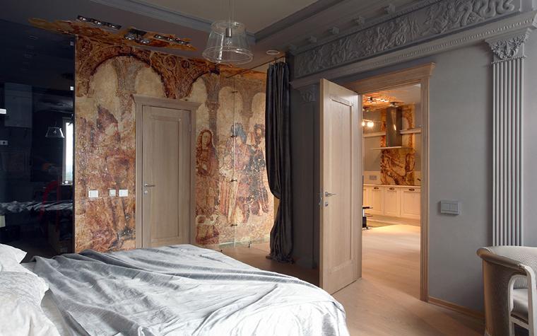 Квартира. спальня из проекта , фото №32667