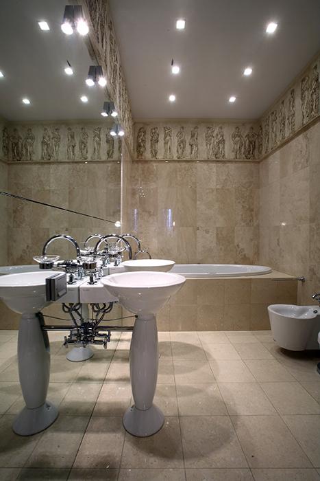 Квартира. ванная из проекта , фото №32662